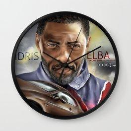 Idris Elba-Daredevil Wall Clock