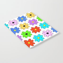 Multi Daisy Notebook