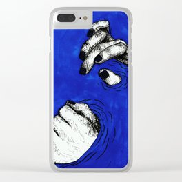 MANOS EN AGUA Clear iPhone Case