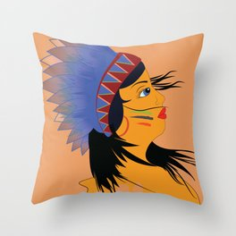 Away with the wind Throw Pillow