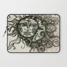 The Sun And The Moon Laptop Sleeve