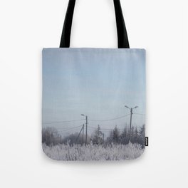 Zone in Winter Tote Bag