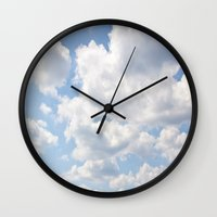 simpsons Wall Clocks featuring The Simpsons by Alyson Cornman Photography