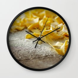 #Fresh #Italian #Pasta for #kitchen #decoration. Wall Clock