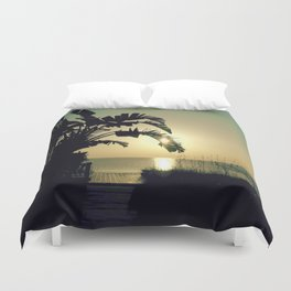 Splendor at the End of the Day Duvet Cover