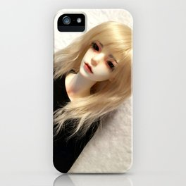 Blond Vampire Boy ball-jointed doll iPhone Case