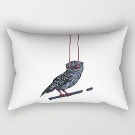 Athene Noctua Rectangular Pillow