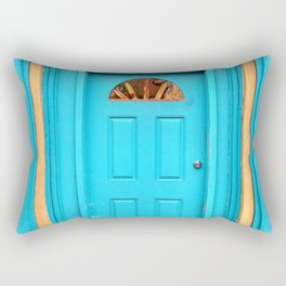 Santa Fe Turquoise Rectangular Pillow