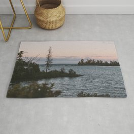 The View From Copper Harbor Rug
