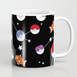 Magikarp pokeballs starry sky Coffee Mug