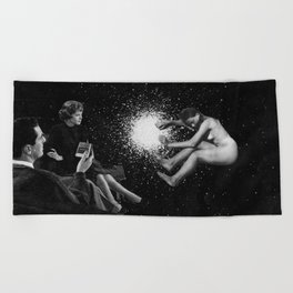 Birth of a Universe Beach Towel