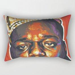 Notorious Biggie - BIG Rectangular Pillow