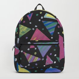 Triangle Abstract Design. Backpack