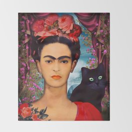 Frida Kahlo   c Throw Blanket