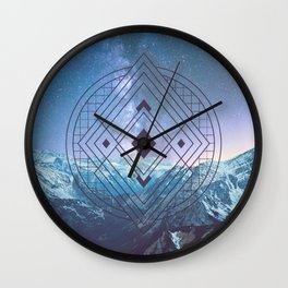 Sacred Geometry Universe 7 Wall Clock