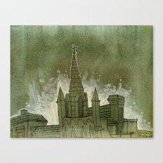 Bits of Savannah Canvas Print