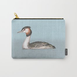 Great crested grebe pencildrawing Carry-All Pouch