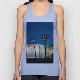Seattle Glass Flowers Space Needle Unisex Tank Top