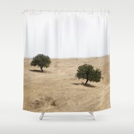 The holm oak Shower Curtain