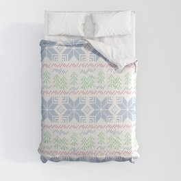 Christmas pattern. Cross-stitch Comforters