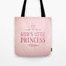 God's Little Princess Tote Bag