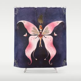 Reine Céleste Shower Curtain