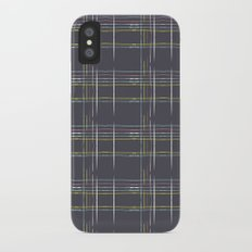 Rosewall plaid iPhone X Slim Case