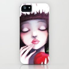 Snow white Slim Case iPhone (5, 5s)