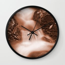 Chocolate Fantasy Stream Wall Clock