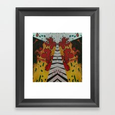 FX#486 - The Narrowing Framed Art Print