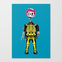 Playmo_Zombie_by LelosLovesYou Canvas Print