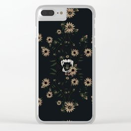 Susan's Bees Clear iPhone Case