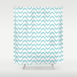 Limpet shell chevron  Shower Curtain