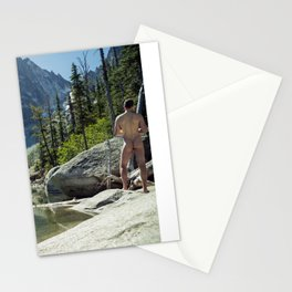 Emerald Green Alpine Lake Stationery Cards