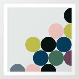 cluster || chill Art Print