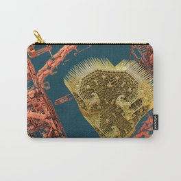 heart in a cage fractal Carry-All Pouch