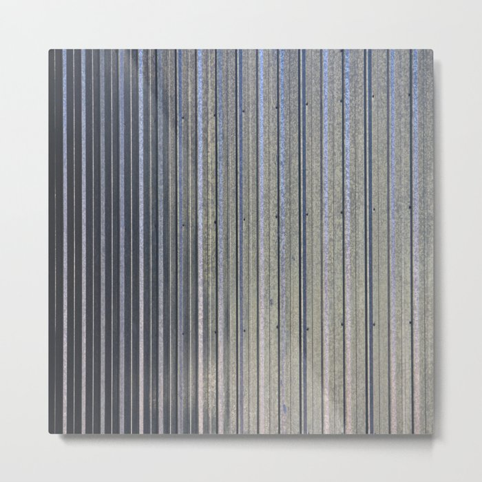 Aluminum Siding Metal Print
