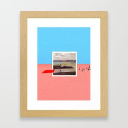 Third Pilot Framed Art Print