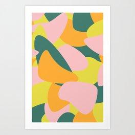 Blubber Blubble Party Art Print
