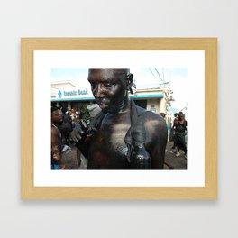 Jab Jab in Carriacou Framed Art Print