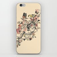butterfly iPhone & iPod Skins featuring La Dolce Vita by Norman Duenas