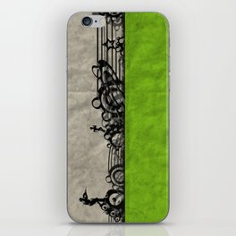 Run - Remix In Green iPhone Skin