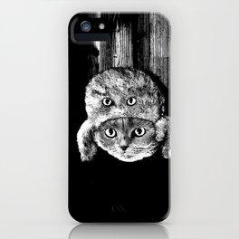 Lumberjack Flash iPhone Case