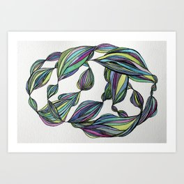 Colorama Art Print