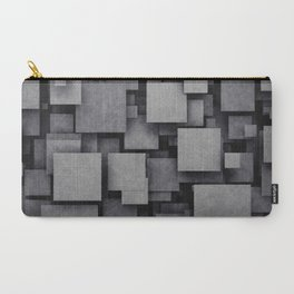 3D Pattern Carry-All Pouch