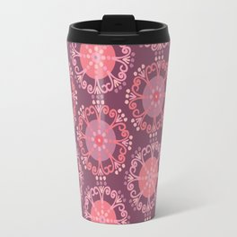 Retro Plum Travel Mug