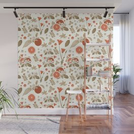 Vintage Clementine Wall Mural