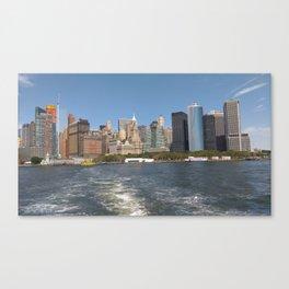 Skyline of NewYork Canvas Print