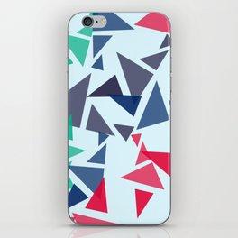 Colorful geometric pattern VI iPhone Skin