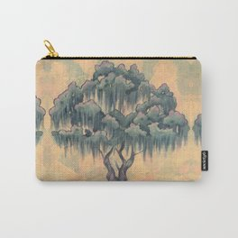 Crepe Myrtle Tree in Bloom Carry-All Pouch